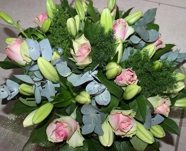 Image bouquet court